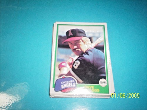 1981 Topps BASEBALL CARD OF DAVE SKAGGS #48 MINT FREE SHIPPING