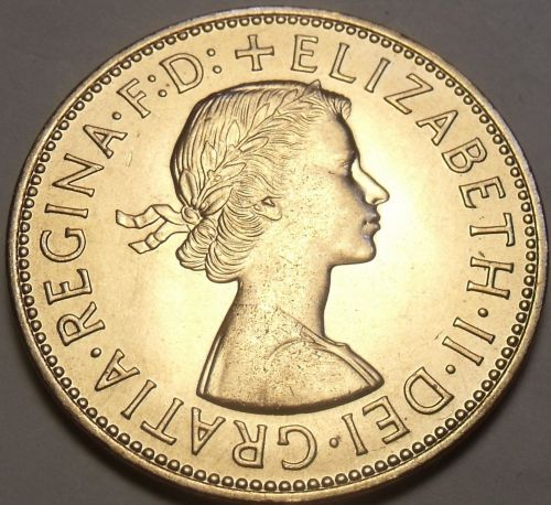 Gem Unc Great Britain 1962 Penny~Britannia Seated Right~Free Shipping