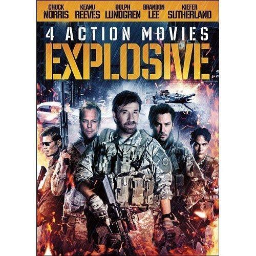 4Movie DVD Laser Mission,BLACKJACK,Brandon LEE Ernest BORGNINE Dolph LUNDGREN