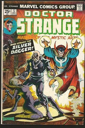 Dr. Strange #5 Marvel Comics Art by Frank Brunner AUTOGRAPHED '74 Fine or better