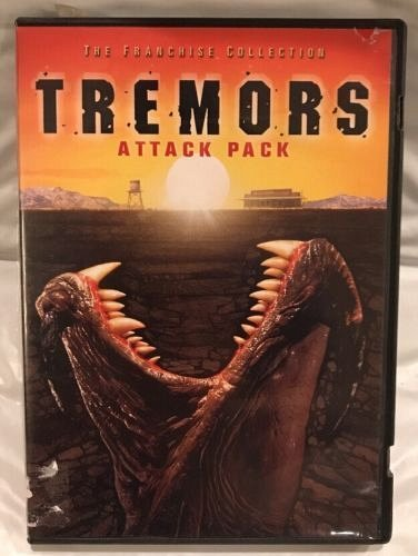 4movie DVD TREMORS,AFTERSHOCKS,PERFECTION,Reba MCENTIRE Sara BOTSFORD Lydia LOOK