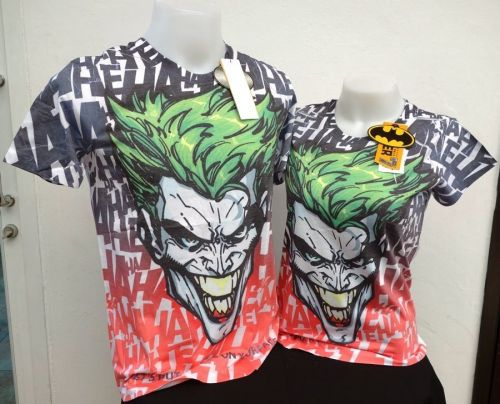 NEW & OFFICIAL The Joker Batman Arkham Origins Men's Multi-Color T-Shirt *116