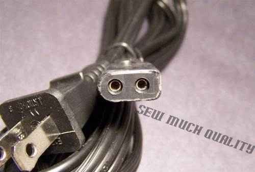ac POWER CORD - Janome MC3000 MC3500 MC4000 electric plug cable sewing machine