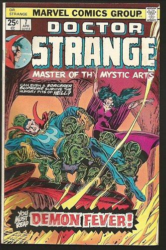 Dr. Strange #7 Marvel Comics GENE COLAN, JOHN ROMITA 1975 Very Fine or better