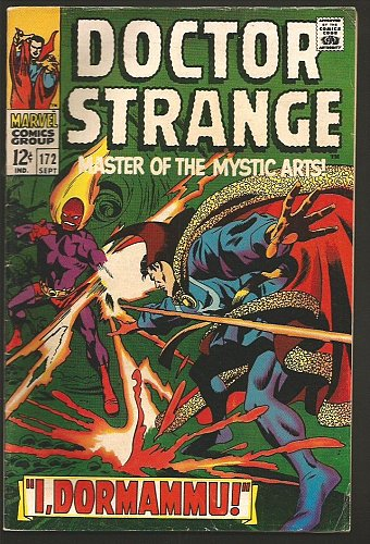 Dr. Strange #172 Gene Colan/RoyThomas/Palmer FINE/VF Marvel Comics1968 1st Print