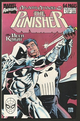 The PUNISHER ANNUAL #2 NM range High Grade Marvel Comics 1989