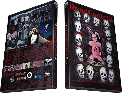 ROAD FOOLS 13 DVD Van Homan,Ty Styvesant,Matt Beringer,Fuzzy Hall,Dennis McCoy