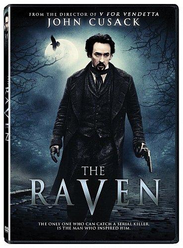 The RAVEN DVD John CUSAK Luke EVANS Alice EVE Brendan GLEESON