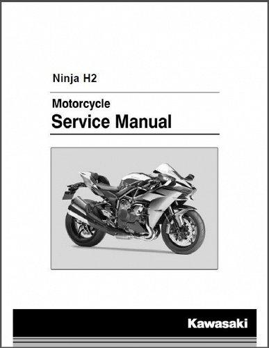 2015-2016-2017 Kawasaki Ninja H2 ( ZX1000NF ) Service & Parts Manual on a CD