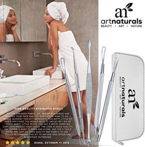 Art Naturals Blackhead Remover Dermatologist Grade Kit, Removes Blackheads and