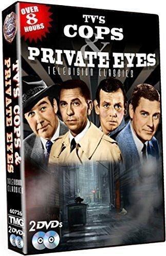 8hr 20episode TV Series DVD Peter Gunn,Boston Blackie,Racket Squad,DRAGNET,Code3