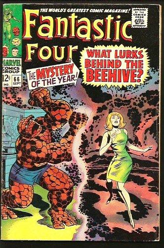 Fantastic Four #66 HIM = WARLOCK Key Kirby 1st print GUARDIANS of the GALAXY VF-