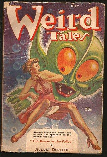 Weird Tales July 1953 Pulp Magazine original