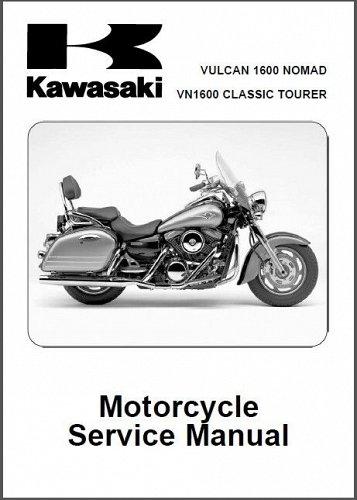 2005-2006 Kawasaki Vulcan 1600 Nomad / VN1600 Classic Tourer Service Manual CD