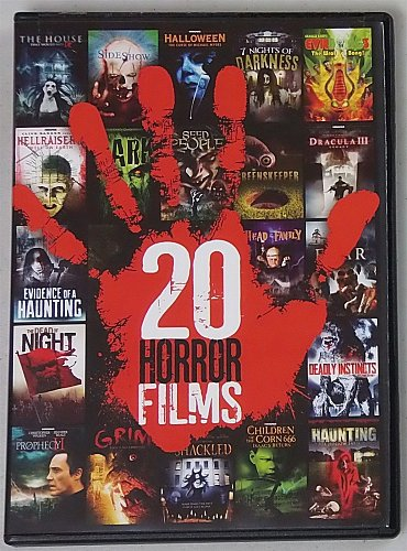 20Movie DVD SIDESHOW,SHACKLED,GRIM,SEED PEOPLE,DEADLY INSTINCTS,LURKING FEAR