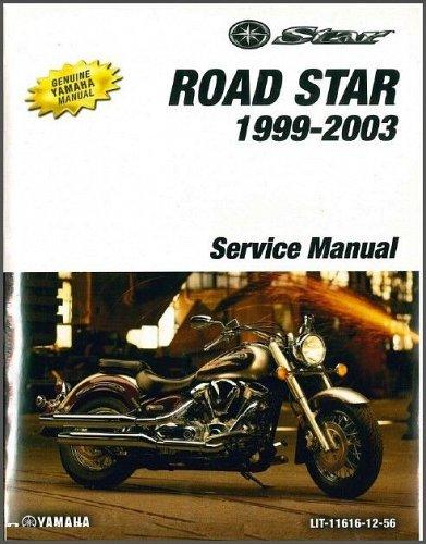 1999-2003 Yamaha Road Star 1600 / Wild Star ( XV16A XV1600A ) Service Manual CD