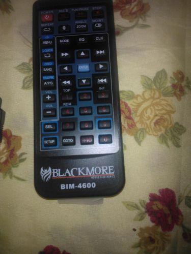 BLACKMORE REMOTE CONTROL BIM 4600 - mobile multi media player receiver monitor