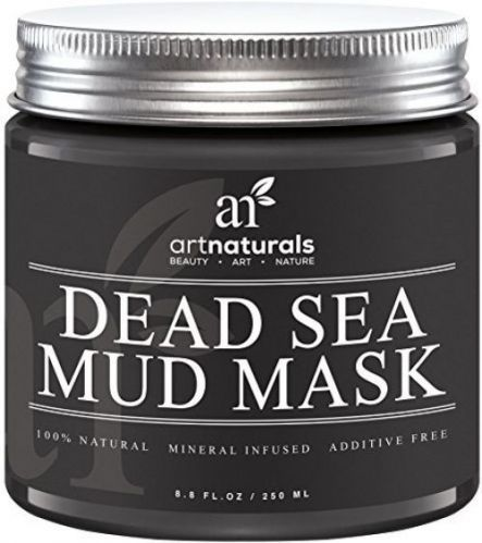 Art Naturals Dead Sea Mud Mask For Face, Body and Hair 8.8 Oz, 100% Natural And