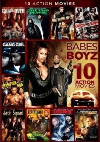 10movie DVD Gang Girl CONSIGNMENT Jack Squad LOCATOR Champion Road REPENTANCE