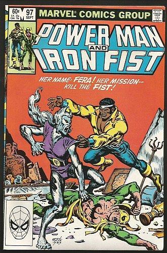 Power Man and Iron Fist #97 Marvel Comics VF-/VF 1983 CHAN-- FERA