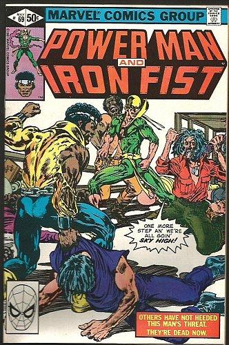 Power Man and Iron Fist #69 Marvel Comics VF- 1981 MARY JO DUFFY
