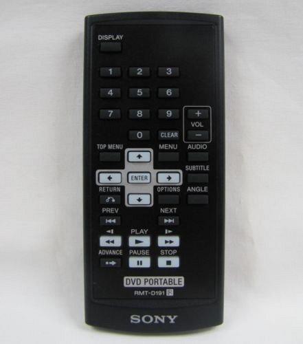 Sony RMT D191 Remote Control DVP FX730 DVP FX750 DVP FX810 DVP FX820 DVP FX930
