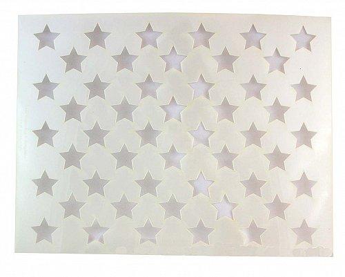 "50 Star Stencil 14 mil Mylar-14.8""W x11.1""H Painting/Crafts/Stencil/Template"