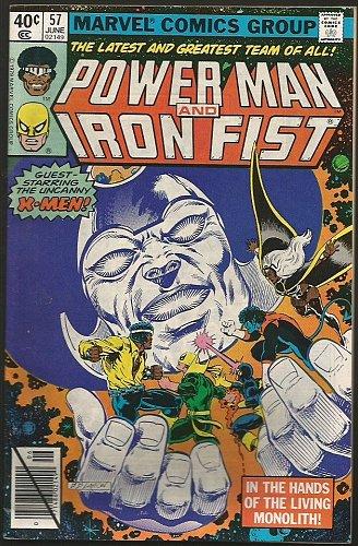 Power Man and Iron Fist #57 Marvel Comics 1979 Fine/VF- range