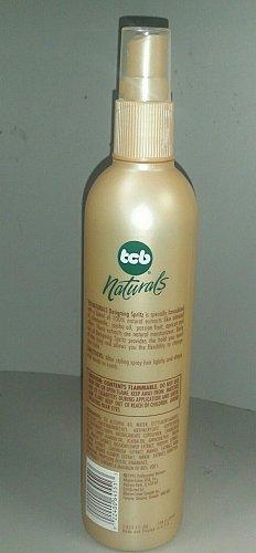 TCB Naturals design hair Spritz Chamomile Almond oil Jojoba oil all day hold