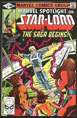 Marvel Spotlight #6 VF+ STAR-LORD ORIGIN Key 1980 GUARDIANS OF THE GALAXY