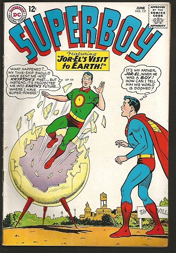 SUPERBOY 121 DC Comics 1965 Silver Age Fine to VF- range or better