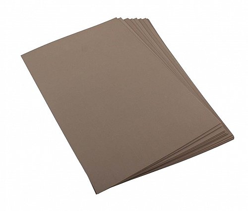 Craft Foam Sheets--12 x 18 Inches -Brown- 5 Sheets-2 MM Thick