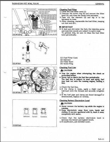 Kubota B6200HST B7200HST Tractor WSM Service Manual on a CD