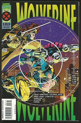 WOLVERINE #47 Marvel Comics 1991 DIRECT EDITION 1st Long Series