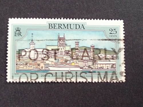 Bermuda 1993 1v used stamp 200th Anniversary of Hamilton