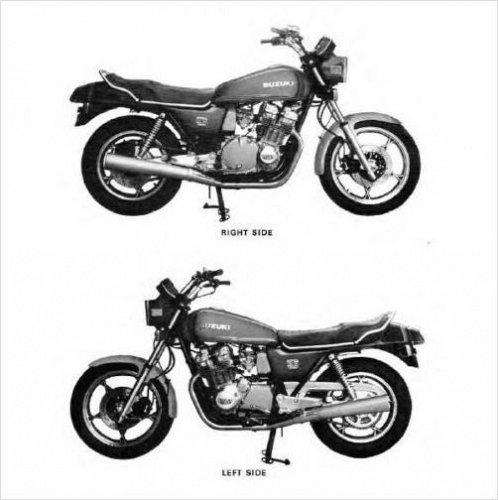 1980-1981-1982-1983 Suzuki GS1100 Service Repair Manual CD .... - GS 1100