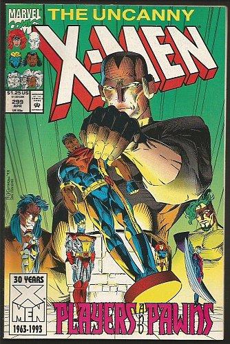 Uncanny X-men #299 -- Marvel Comics 1983 Lobdell --2 Copies NM + VF- 1st series