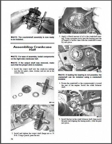 2015 Arctic Cat XR ATV Service Manual on a CD