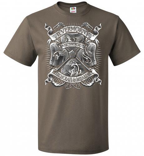 Fantastic Crest Unisex T-Shirt Pop Culture Graphic Tee (M/Safari) Humor Funny Nerdy G