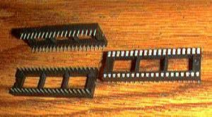 Lots of 55: Molex 42000-4030 :: 40 Pin IC Sockets :: FREE Shipping