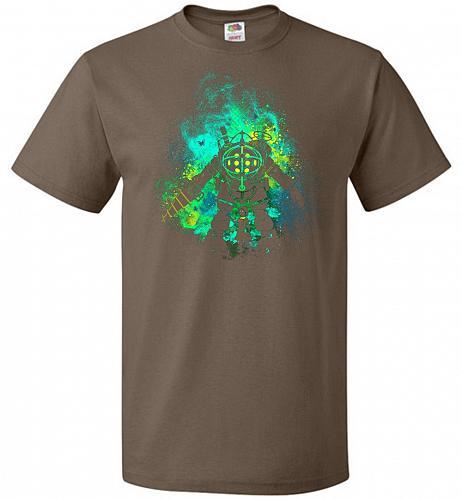 Raputure Art Unisex T-Shirt Pop Culture Graphic Tee (S/Chocolate) Humor Funny Nerdy G