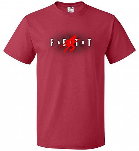 Air Fett Unisex T-Shirt Pop Culture Graphic Tee (6XL/True Red) Humor Funny Nerdy Geek