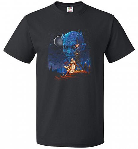 Throne Wars Unisex T-Shirt Pop Culture Graphic Tee (4XL/Black) Humor Funny Nerdy Geek