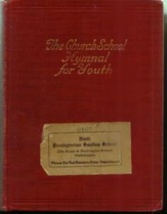 The Church School Hymnal for Youth :: 1934 HB :: FREE Shipping