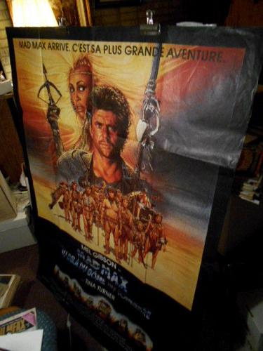"""Gigantic MAD MAX Movie Poster folded 42""""x62"""" or larger"""