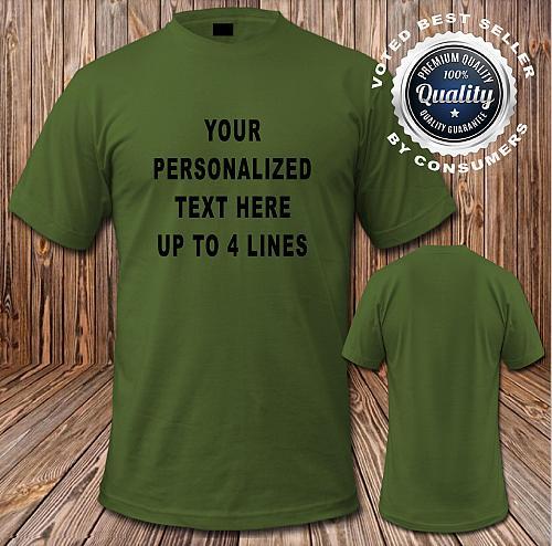 Custom T shirt Gildan® - Ultra Cotton® 100% Cotton T-Shirt or Blank (Lot # G)