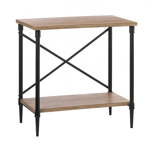 "*18546U - Industrial Modern Style 25"" Fir Wood Console Table"
