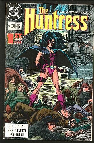 The HUNTRESS #1 Fine+/VF DC Comics Looks nice Joe Staton 1989