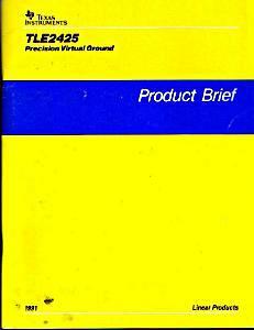 Texas Instruments TLE2425 Brief Book