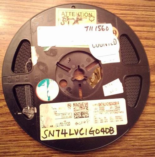 Lot of 2510 ?: Texas Instruments SN74LVC1G04DBVR